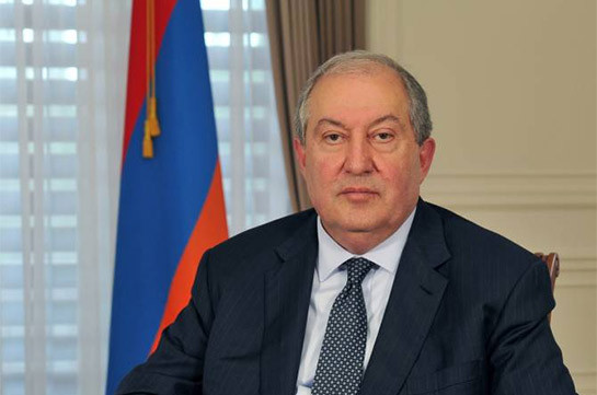 Armenia's president urges all show sobriety and restraint, says undertakes urgent steps to ease the tension