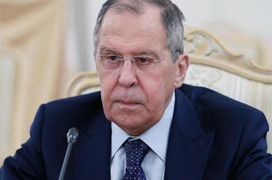 Լավրով. Հայաստանում իրավիճակի խաղաղ կարգավորման հույս ունենք