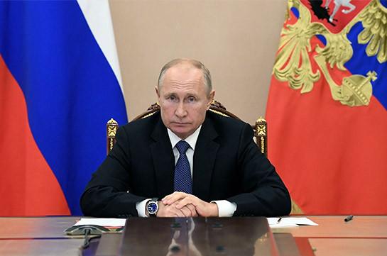 Պուտինը Լեռնային Ղարաբաղի շուրջ իրադրությունը քննարկել է ՌԴ ԱԽ-ի մշտական անդամների հետ