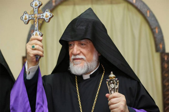 Armenia on the edge of abyss, tomorrow may be late – Aram I Catholicos