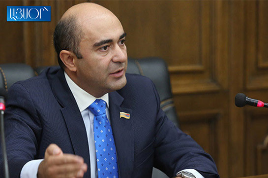 National strategy necessary to restore the destroyed country – Edmon Marukyan