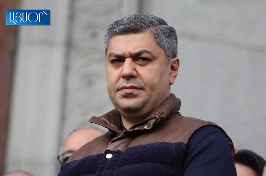 Armenia's president to make decision over Onik Gasparyan's resignation by 6 p.m. – Artur Vanetsyan