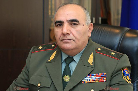Deputy governor of Armenia's Gegharkunik steps down, joins General Staff statement