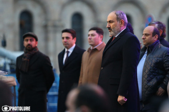Armenia's PM again voices proposal of snap parliamentary elections