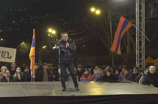 Opposition to open Baghramyan Avenue only after removing Pashinyan