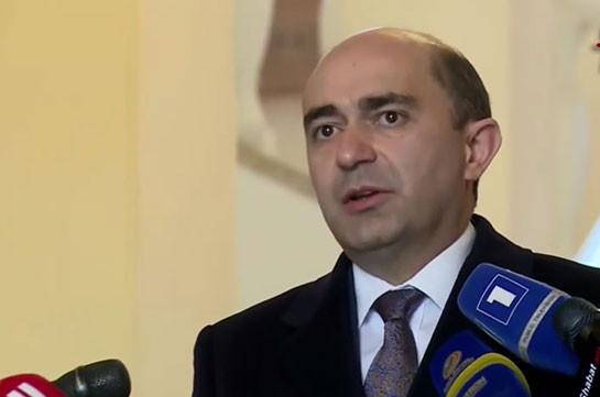Bright Armenia faction head, Armenia's PM fail to reach agreement, to continue talks