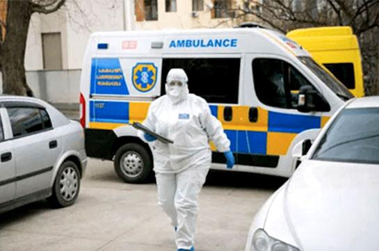 Число инфицированных коронавирусом в Грузии увеличилось за сутки на 133