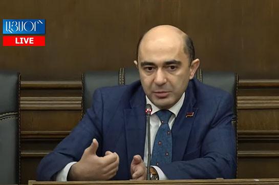 Если «Процветающая Армения» отклонит предложение о проведении внеочередных выборов, этот вопрос все равно останется в нашей повестке – Эдмон Марукян