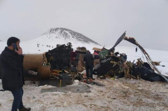 Թուրքիայում ուղղաթիռ է կործանվել, զոհվել է գեներալ