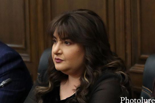 Ивета Тоноян: Сегодня не предусматривается встреча Гагика Царукяна с Николом Пашиняном