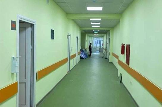 В медицинском центре «Сурб Аствацамайр» снова открылся инфекционный филиал