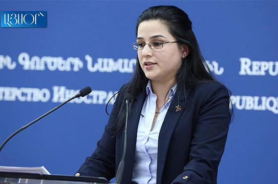 Реализация права народа Арцаха на самоопределение является ключевым компонентом для урегулирования конфликта – Анна Нагдалян