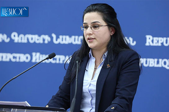 Artsakh people's self-determination, elimination of war consequences core elements of NK conflict settlement – MFA spokesperson