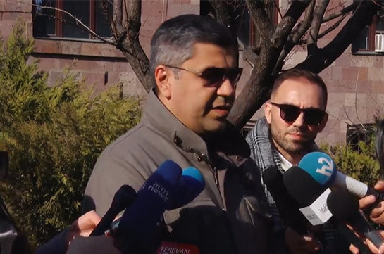 Ara Saghatelyan persecuted for his political views – Artur Vanetsyan