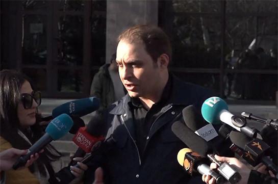 Апелляционный уголовный суд констатировал, что в предъявленном Ара Сагателяну обвинении нет обоснованного подозрения – адвокат