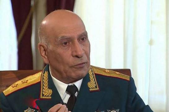Генерал Норат Тер-Григорянц выступил в поддержку начальника Генштаба ВС