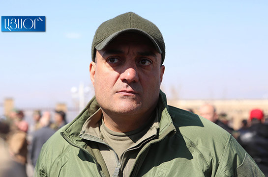 Created crisis not easy to solve – Arman Saghatelyan on situation with General Staff Chief
