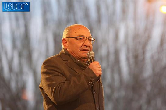 Вы не сдались, чтобы у нас была счастливая и мирная страна, вы подарили Родине самое дорогое – Вазген Манукян