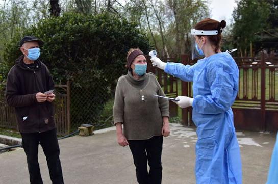 Число инфицированных коронавирусом в Грузии увеличилось за сутки на 228