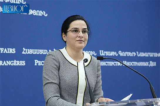 Azerbaijan tries to create grounds for justifying its non-compliance by putting forward a fake agenda of minefield maps – Armenia's MFA