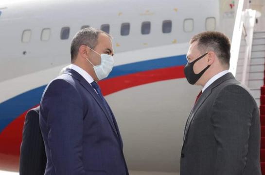 Генпрокурор России прибыл в Армению