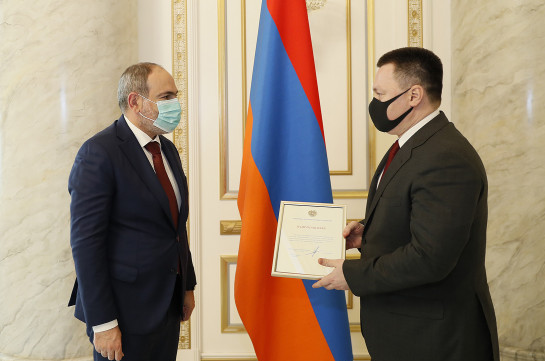 Russia's Prosecutor General assures Armenia's PM that will continue his efforts for exchange of captives
