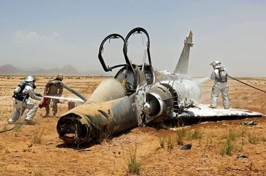 Турецкий военный самолет упал в Эгейское море
