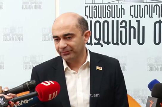 Предстоящие парламентские выборы станут сюрпризом, волкодавы и волки уйдут вместе – Эдмон Марукян
