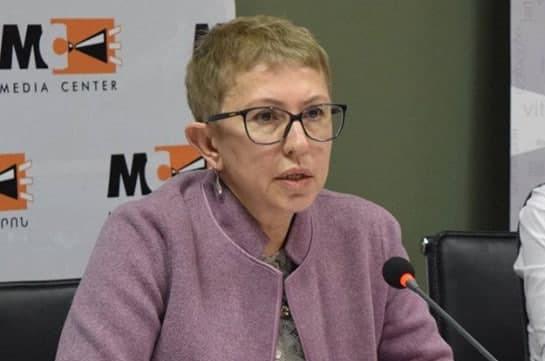 Исполнительный директор Фонда Сороса Лариса Минасян 16 апреля покинет свой пост