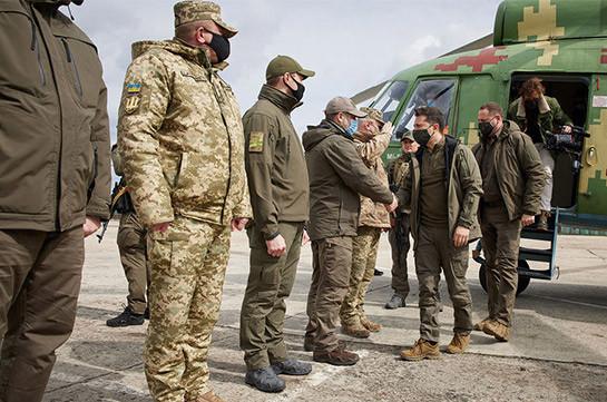 В Киеве заявили, что Украина не планирует наступление в Донбассе