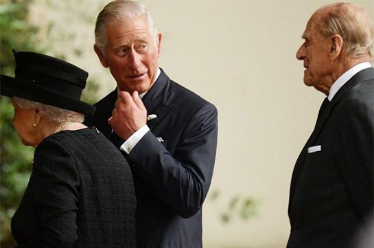 Արքայազն Ֆիլիպն արքայազն Չարլզին խնդրել է հոգ տանել թագուհու մասին և ղեկավարել ընտանիքը