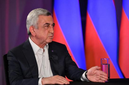 2018-ի պատասխանը շատ շուտով կտա Սերժ Սարգսյանը