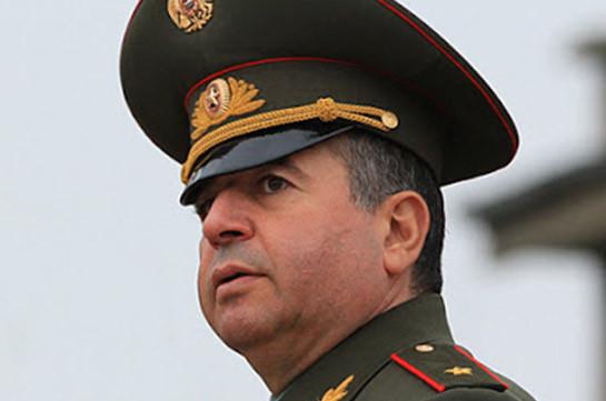 Аршак Карапетян назначен первым заместителем начальника Главного штаба ВС Армении силой закона