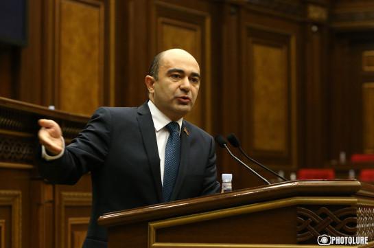 Армения должна работать над тем, чтобы мир увидел, с каким отвратительным режимом имеет дело на Южном Кавказе – Эдмон Марукян