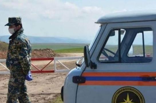 Поиск тел погибших военнослужащих продолжается в районе Джракан (Джабраил)