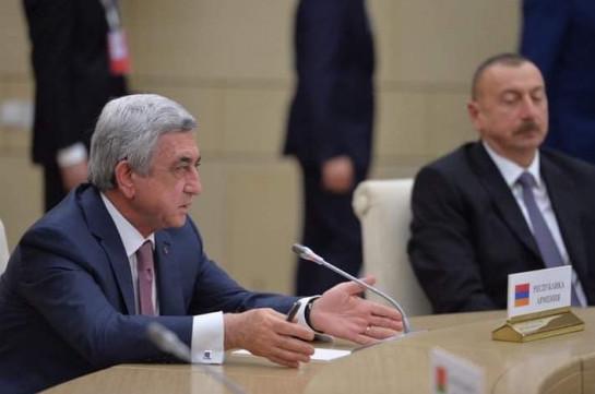 Если Серж Саргсян когда-либо что-либо и обещал Ильхаму Алиеву, так это увидеть собственный затылок – офис третьего президента Армении