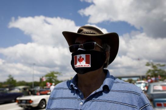 Կանադան հայտարարել է COVID-19 դեպքերի ռեկորդային աճի մասին