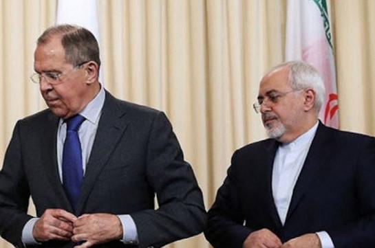 Лавров: Россия и Иран за справедливое урегулирование карабахского конфликта