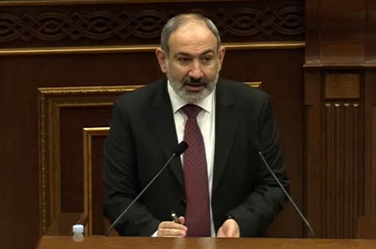 Пашинян: Азербайджан пытается торпедировать процесс открытия региональных транспортных коммуникаций