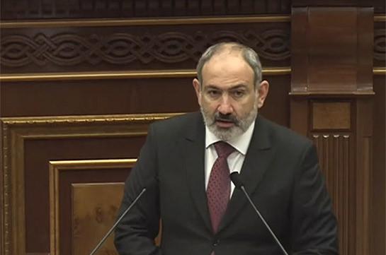 Содержательные и структурные изменения в Армении стали той искрой, которая разожгла пламя войны – Никол Пашинян