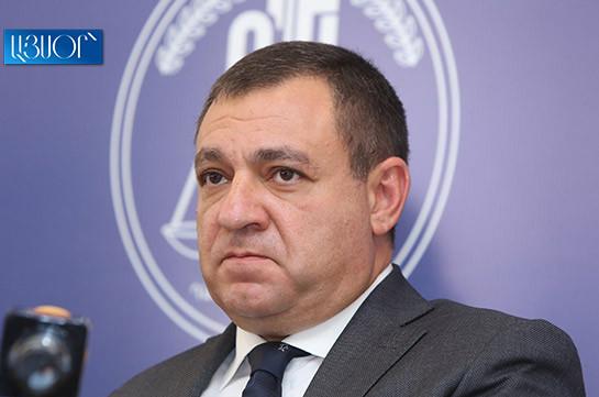 Criminal case filed against president of Armenia's Supreme Judicial Council