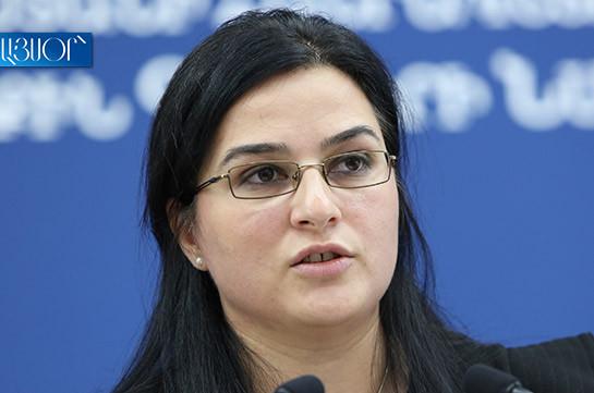 Խաղաղության պայմանագիր ստորագրելու համար ադրբեջանական կողմի հետ հանդիպում նախատեսված չէ. Աննա Նաղդալյան