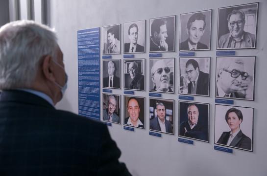 Հայկական հեռուստատեսության 65 ամյակին ընդառաջ Հանրային հեռուստաընկերությունում բացվեց թանգարանային անկյուն (Լուսանկարներ)