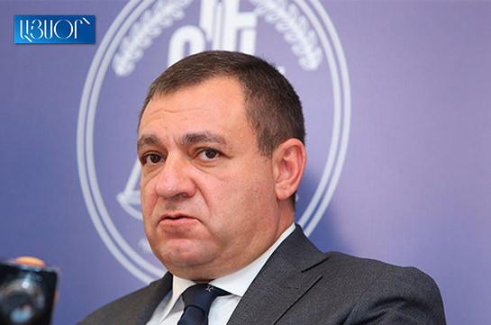 Полномочия председателя Высшего судебного совета Рубена Вардазаряна приостановлены