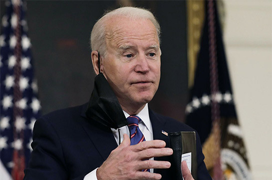 Biden mispronounces Putin's name in remarks on Russia
