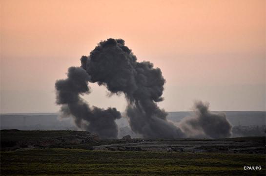 В Сирии на мине подорвался грузовик, перевозивший крестьян