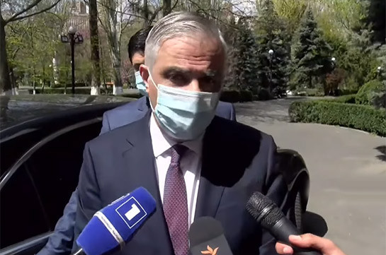 Armenia's Vice PM excludes discussion of Zangezur corridor issue during works