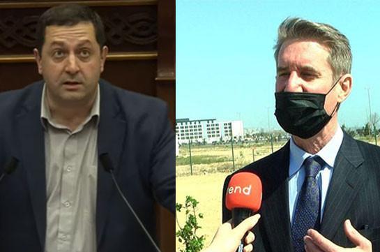 Мэтью Брайза посетил «парк военных трофеев» в Баку: пора, чтобы МИД занялся «черным списком» – депутат