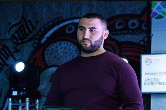 Armenian world weightlifting champion Simon Martirosyan charged