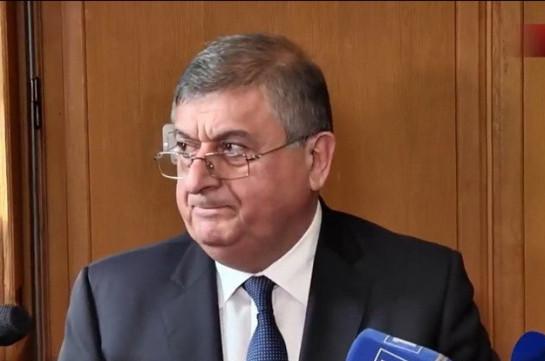 Гагик Джангирян не может быть членом Высшего судебного совета – бывший руководитель аппарата КС Армении